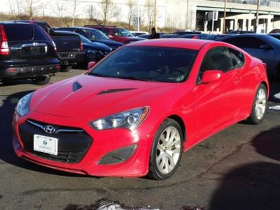2013 Hyundai Genesis Coupe 2.0T (Red)
