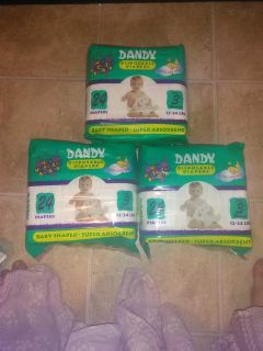 Diapers, size 3, 72ct