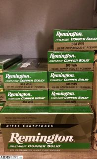 For Sale: Remington 150gr Polymer Boattail