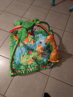 Battery operated play mat
