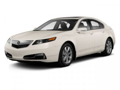 2012 Acura TL w/ Technology Package (Crystal Black Pearl)