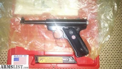 For Sale/Trade: New Unfired Ruger MKII 50th 22 Pistol