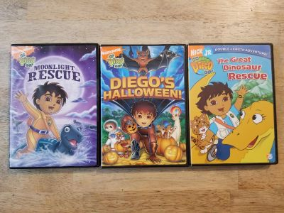 Diego DVDs, $1 ea