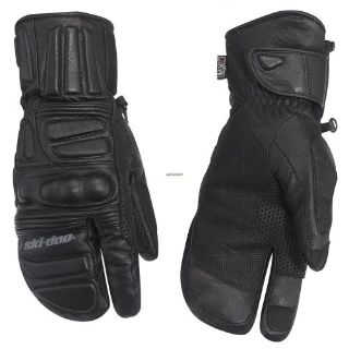 Sell Ski-Doo Leather Hybrid Mitts - Black motorcycle in Sauk Centre, Minnesota, United States, for US $93.49