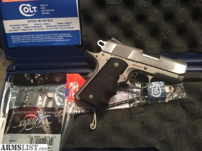 For Sale/Trade: Colt 9mm Defender
