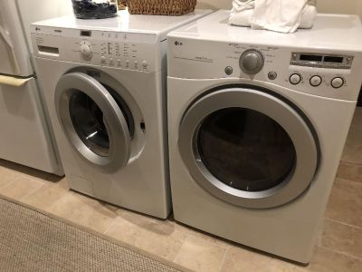 LG Washer $300.....Dryer FREE (needs to be repaired)