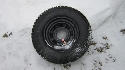 $600 OBO 4 Studded Snow Tires W/rims 16s for Dodge Ram 2500
