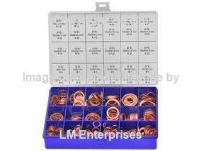 Find Automotive Copper Washer Assortment Kit - 540 Washers - 30 Sizes - 4mm to 33 mm motorcycle in Carson, California, US, for US $109.75