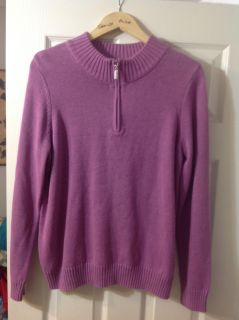 NEW still has tags Purple Sweater PPU Only