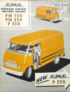 Sell 1958 GMC Truck Fwd Control Del PM 150 & 250 & P 350 Series Sales Brochure Folder motorcycle in Holts Summit, Missouri, United States, for US $20.00