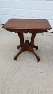 Oak Antique Occasional Table