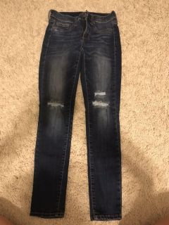 Girls jeans, size 25 (0-2)