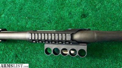 For Sale: Remington Model 870 /12 Gauge w/ Shell Holder & Picatinny Rail