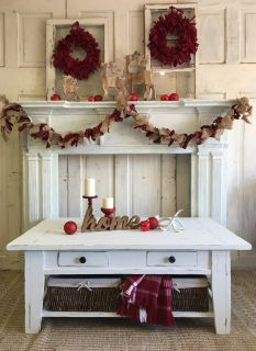 Shabby White Coffee Table