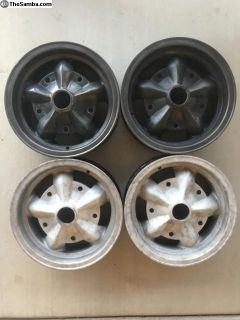 UBER RARE MAGNESIUM AMERICAN RACING D spoke rims