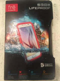 Lifeproof Fre case for Samsung Galaxy S6