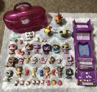 HUGE LPS Twozies Squinkies Hello Kitty Lalaloopsy