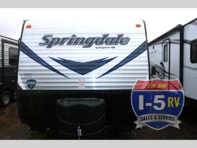 New 2018 Keystone RV Springdale 201RDWE