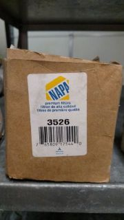 Sell Napa 3526Fuel Filter (WIX 33526) motorcycle in Mulvane, Kansas, United States, for US $18.00