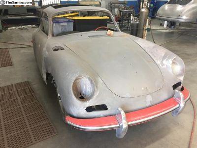 Porsche 356 T6 B Sunroof 1963 project Matching #s