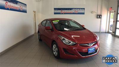 2016 Hyundai Elantra GLS (red)