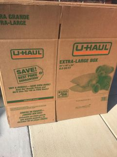 New moving boxes