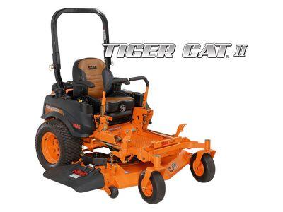 2019 SCAG Power Equipment Tiger Cat II Zero-Turn Kawasaki 52 in. 22 hp Commercial Zero Turns Roca, NE