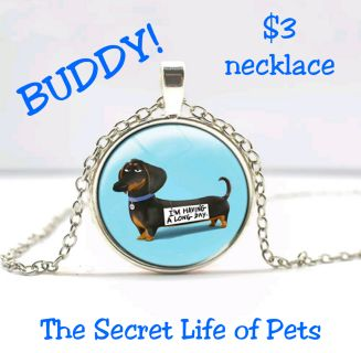 THE SECRET LIFE OF PETS Buddy Necklace