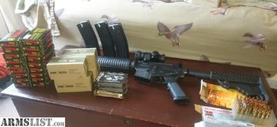 For Sale/Trade: DMPS Panther .223/5.56 AR-15 with ammo, optics, and magazines