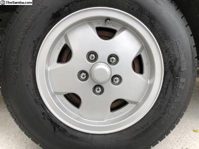 Vanagon OEM Alloy Rims & Tires