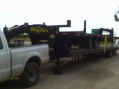 $14,900, 48 ft flatbed gooseneck trailer