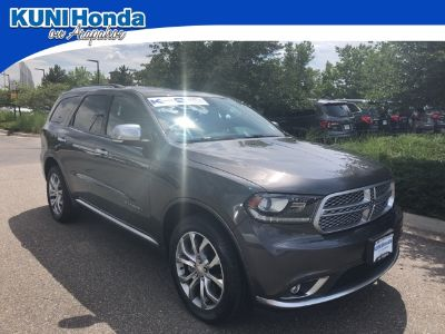 2016 Dodge Durango Citadel (Granite Crystal Metallic Clearcoat)