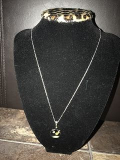 Stainless steel Angry bird necklace