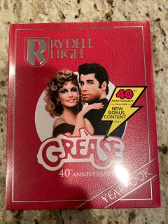 Grease dvd blue ray new