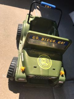 Diego Power Wheels Jeep with battery