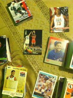 Over 800 sports cards