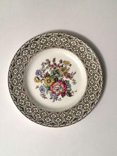 Antique 1930s Harvard Empire England Plate
