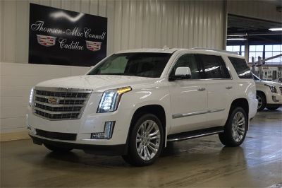 2018 Cadillac Escalade Premium (Crystal White)