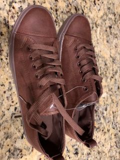 Brown Maurice shoes size 10
