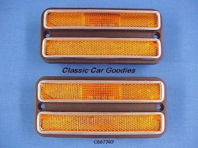 Buy 1968-1972 Chevy Blazer Amber Side Marker 1969 1970 1971 motorcycle in Aurora, Colorado, US, for US $31.99
