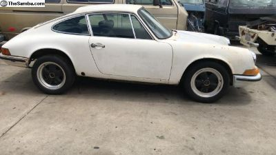 1970 Porsche 911T barn Find Project