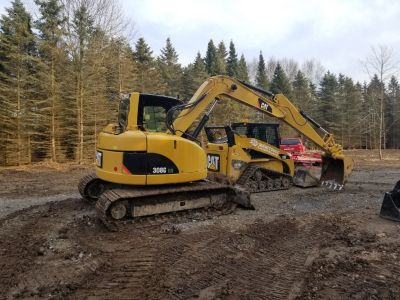 2008 Caterpillar 308b Cr