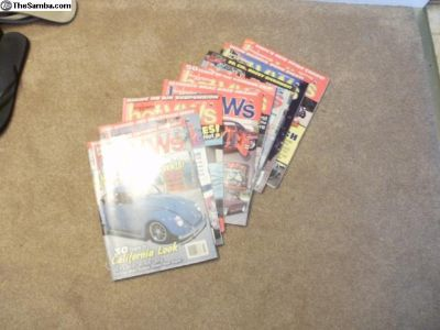 Hot VW's magazines 178 issues