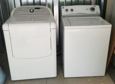 Whirlpool Cabrio washer and Kenmore dryer