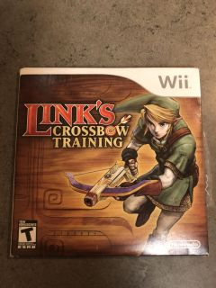 Link s Crossbow Training Wii game