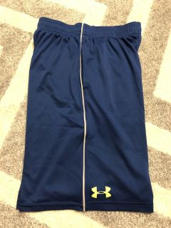 Under Armour blue/yellow