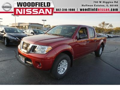 2019 Nissan Frontier SV (Red)