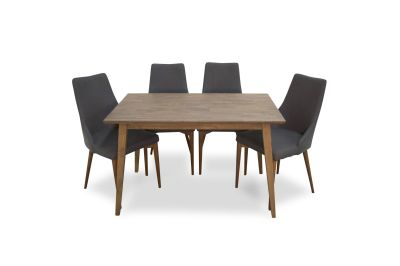 Mid Century Modern Adira Dining Table 47""