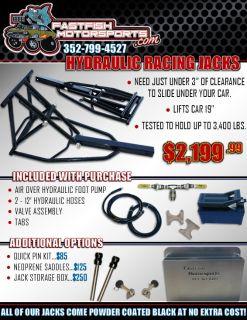 Air Over Hydraulic Racing Jacks!