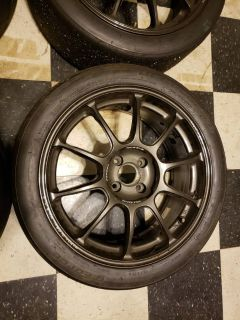 Global MX-5 Cup Wheels - Ray's ZE40 17x7.5 +40 4x100 w/ BFG